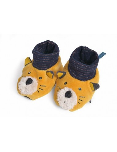 Chaussons chat Lulu Les Moustaches -...
