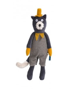 Peluche chat Alphonse Les Moustaches