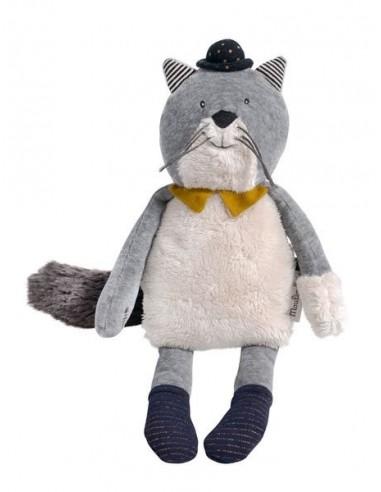 Peluche chat Fernand Les Moustaches -...