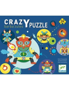 Puzzle géant Barba'zules -...