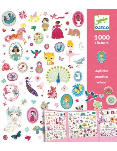 1000 stickers sweet - Djeco