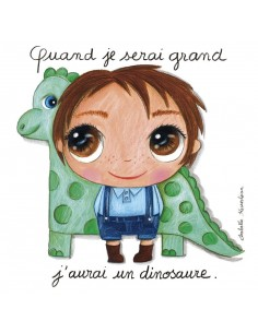 Tableau dinosaure - Quand...