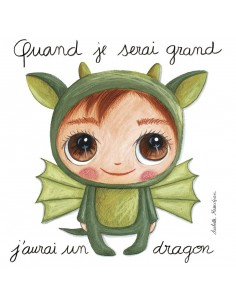 Tableau dragon - Quand je...