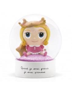 Boule à neige princesse -...