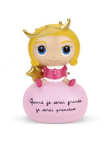 Tirelire nouvelle princesse - Quand...