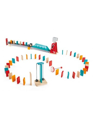 Circuit de dominos grand marteau - Hape