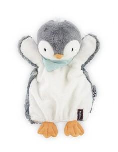 Doudou marionnette pingouin...