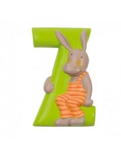 Z lettre alphabet en résine...