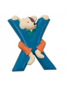 X lettre alphabet en résine...