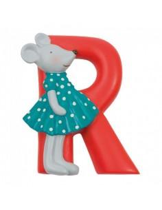 R lettre alphabet en résine...