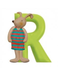 R lettre lapin alphabet en...