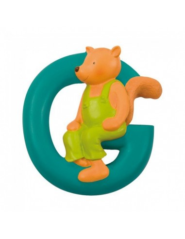 G lettre écureuil alphabet en résine...