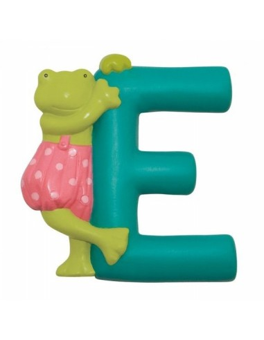 E lettre grenouille alphabet en...