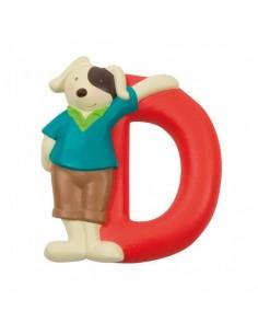 D lettre alphabet en résine...