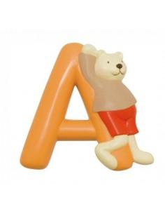 A lettre ours alphabet en...