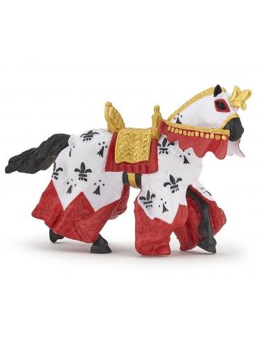 Figurine cheval du roi Arthur - Papo