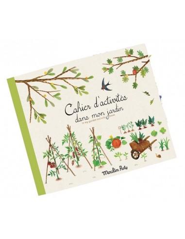 Cahier d'activités dans mon jardin -...