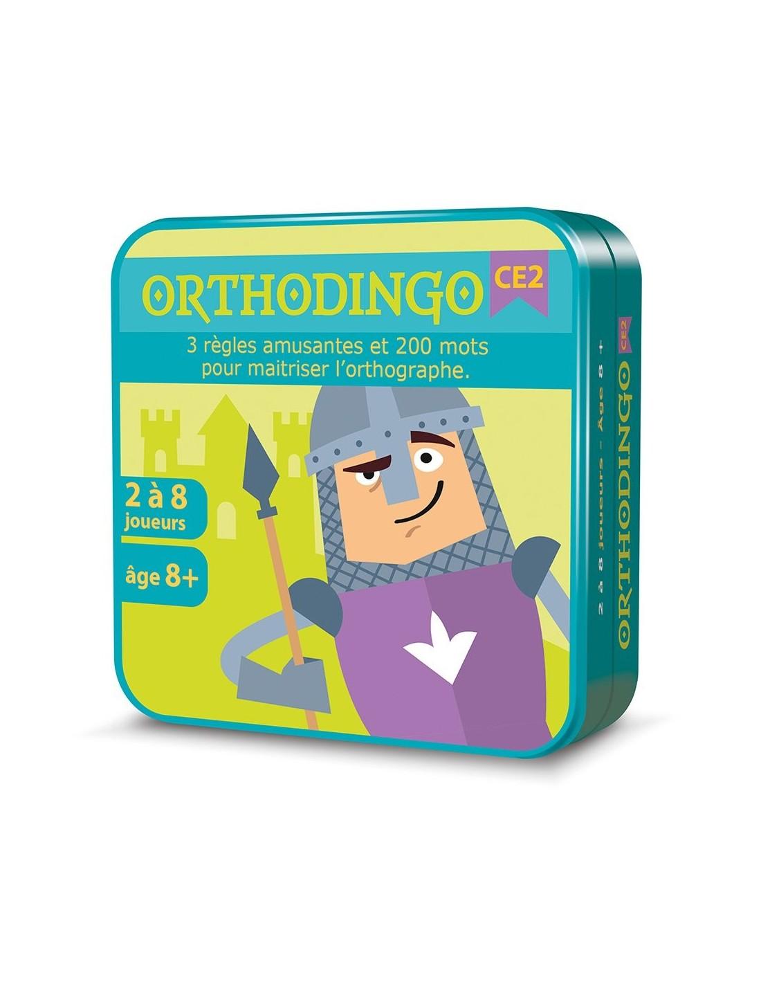 Orthodingo CE2 - jeu éducatif d\'orthographe- LaPouleAPois.fr