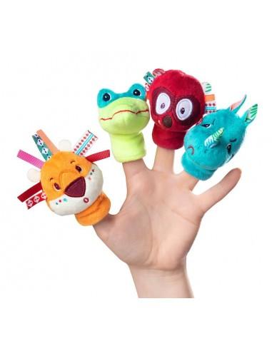 Marionnettes de doigt jungle -...