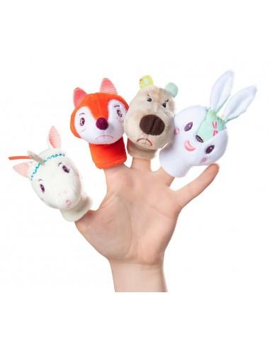 Marionnettes de doigt forêt -...