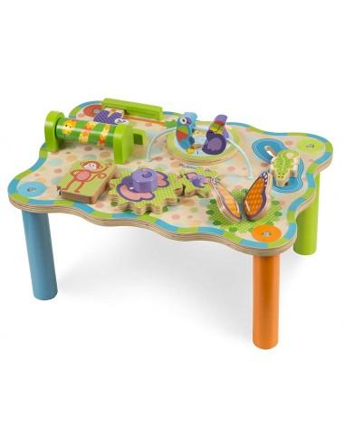 Table d'activités jungle - Mélissa &...
