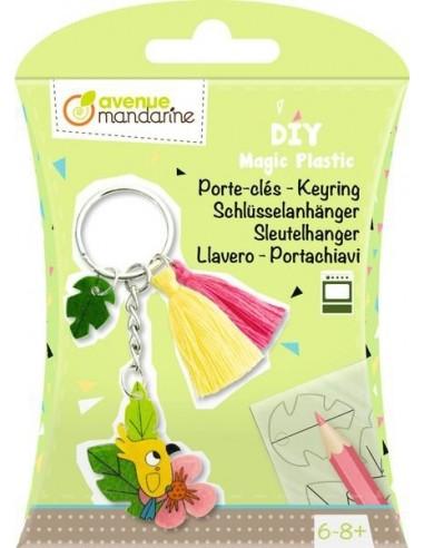 Porte clé plastique magique - Avenue...