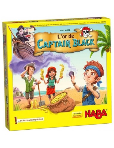 L'or du Captain Black - jeu Haba