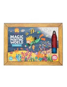 Coloriage magique océan