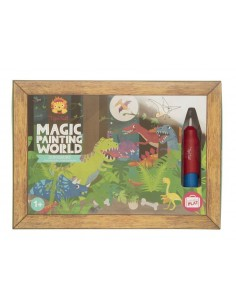 Coloriage magique dinosaures