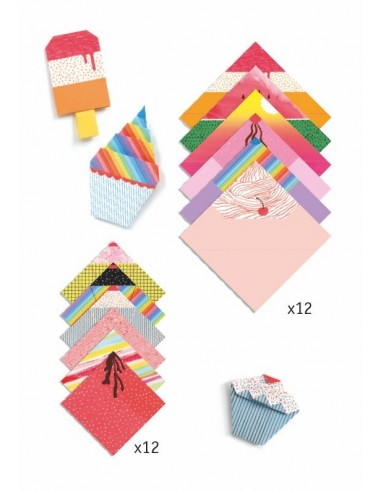 Origami Facile Délices Djeco