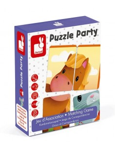 Jeu puzzle party - Janod