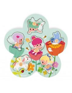 Puzzle Happy fairies - Janod