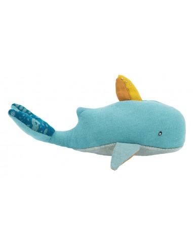 Hochet baleine Le voyage d'Olga -...