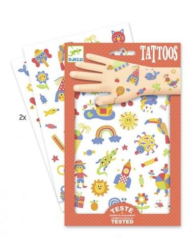 Tatouages so cute - Djeco
