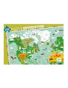 Puzzle d'observation Tour...