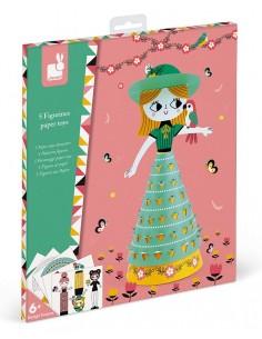 Paper toys jolies poupées -...