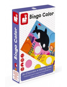 Bingo color - jeu Janod