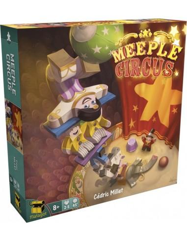 Meeple circus - jeu Matagot