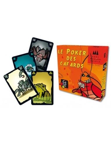 Poker des cafards - jeu Gigamic