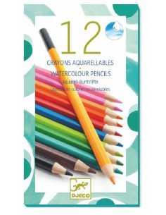 Crayon aquarellable...