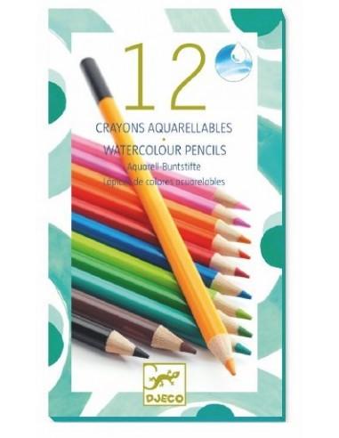 Crayon aquarellable classique - Djeco