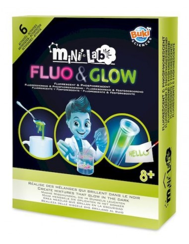Mini lab fluo & glow - Buki