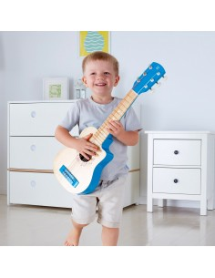Guitare lagon bleu - Hape
