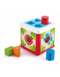 Cube trieur de formes - Hape