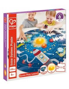Puzzle système solaire - Hape