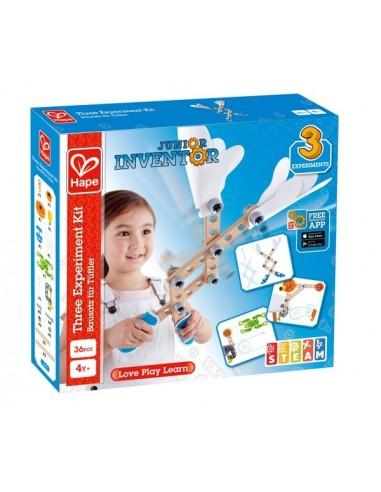 Kit de 3 expérience Junior Inventor -...