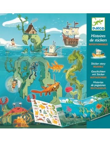 Les aventures en mer histoires de...