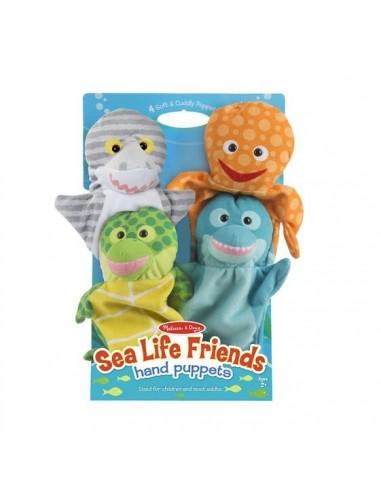 Marionnettes amis de l'océan -...