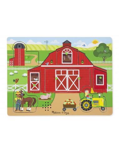 Puzzle sonore autour de la ferme -...