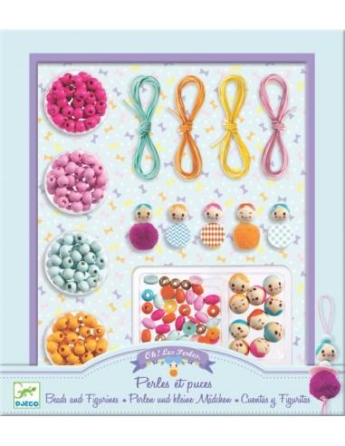 Bijoux à créer perles et puces  - Djeco